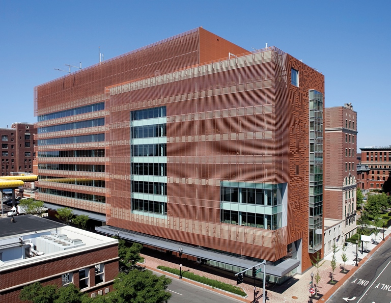 Boston Medical Center United Stated NBK Terracotta 2